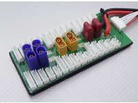 HobbyKing Junta carga en paralelo de 6 paquetes de 2 ~ 6S (XT60 / EC5 / Conector-T)