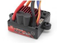 Turnigy TrackStar 1/10 70A ESC impermeable del coche (Sólo Sensored)