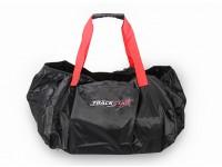 TrackStar 1 / 10th escala del coche bolsa de transporte (Rojo / Negro)
