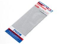 Acabado en húmedo / seco del papel de lija P600 Grado Tamiya (3 piezas)