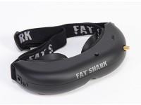 V2 FPV sistema de auriculares FatShark Actitud w Trinidad Head Tracker y CMOS de la cámara /