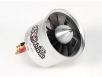 El Dr. Mad empuje 70 mm 11-Hoja de la aleación del FED 1900kv Motor - 1900watt (6S)