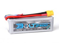 Perno Turnigy 2400mAh 15.2V 4S 65 ~ 130C alto voltaje Lipo Pack (LiHV)