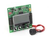 Hobbyking KK2.1.5 multi-rotor de la Junta de Control de Vuelo LCD con 6050MPU Y Atmel 644PA