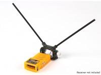 HobbyKing ™ ajustable del receptor de antena dual Monte 45 grados (paquete de 2)