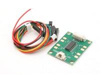 HKPilot Mega conductor del LED Junta 12V (4 canales) (APM)