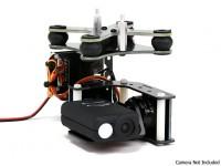 Turnigy Mobius 2-Eje cardán con el Tarot controlador y AX2206 Motors