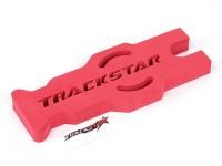 TrackStar 1/10 y 1/12 Touring Escala / Mantenimiento Pan soporte del coche (rojo) (1 unidad)