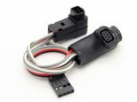 FrSky telemetría y Módulo del cabezal de la pista Extensión de cable para 9XR Pro