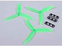 Hobbyking ™ Hélice 5x3 verde (CCW) (3pcs)