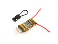 OrangeRx R410X DSMX Compatible 4Ch / 6CH PWM Receptor 2.4Ghz / CPPM