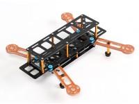 Dardo 250 FPV Drone w / distribución de alimentación, limpio y sucio e iluminación LED