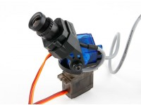 Cámara Fatshark 600TVL Alta Resolución FPV Tuned Pan / Tilt CMOS (versión de actualización)