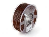 Impresora 3D ESUN Filamento de Brown 1.75mm ABS 1kg rollo