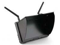 7 pulgadas de 800 x 480 de 5,8 GHz Diversidad FPV LCD Monitor Boscam Galaxy D2