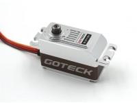 Goteck BL2511S Brushless digital MG metal Entubado de coches Servo 12 kg / 0.09sec / 62g