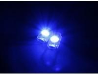 Turnigy super brillante 2 x Azul Add On LED de luz conjunto