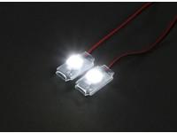 Turnigy super brillante 2 x White Add On LED de luz conjunto