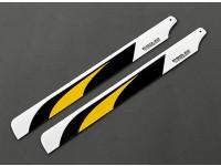 335mm fibra de carbono principal Cuchillas