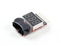 HobbyKing ™ Lipo voltaje Comprobador de (2S ~ 8S)