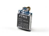 Transmisor FPV HobbyKing ™ FT952 5.8GHz 32CH 200mW mini con Gopro 3 AV plomo