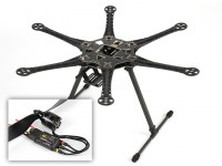 HobbyKing ™ S550 Hexcopter Combo (Frame, de la ESC y motores) (ARF)
