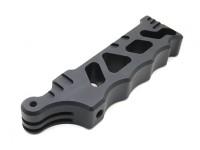Aluminio táctico del estilo de mango de agarre para GoPro y Acción levas