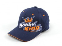 HobbyKing (logotipo grande) Flexfit Cap-S XS