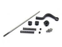 Servo piezas de conexión - Super jinete SR4 SR5 1/4 Escala RC sin escobillas de la motocicleta
