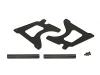 Placa de bastidor y del eje del marco - Super jinete SR4 SR5 1/4 Escala RC sin escobillas de la motocicleta