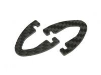 DIATONE cuchilla 250 - Sustitución de fibra de carbono del tren de aterrizaje (2 piezas)