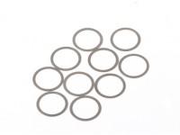 BSR Beserker 1/8 Truggy - Shim 13.2x15.9x0.2mm (10 piezas) 941312