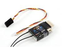 FrSky X4RA 3 / 16CH receptor de 2,4 GHz ACCST w / S.Bus, inteligente Puerto y telemetría (2015 versión de la UE)