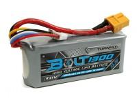 Perno Turnigy 1300mAh 15.2V 4S 65 ~ 130C alto voltaje Lipo Pack (LiHV)