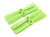 DIATONE Bull Nose plástico Hélices 4 x 4.5 (CW / CCW) (Verde) (2 pares)