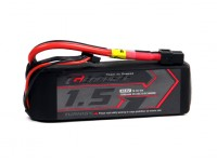 El grafeno Turnigy 1500mAh 3S 65C Li-Po paquete w / XT60