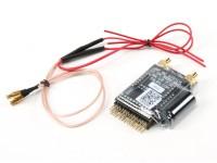 Receptor Scherrer Rx700LR de Largo Alcance UHF con fuente de alimentación