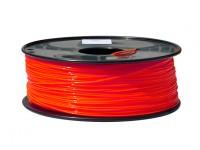 HobbyKing 3D Filamento impresora 1.75mm PLA 1kg Carrete (fluorescente roja)