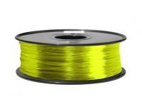 HobbyKing 3D Filamento impresora 1.75mm ABS 1kg Carrete (transparente amarillo)