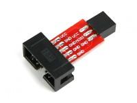 ATMEL ISP10 al adaptador ISP6