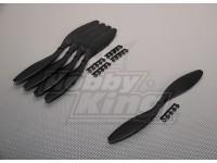 GWS Estilo Slowfly hélice 11x4.7 Negro (CCW) (5pcs)
