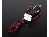 Adaptador de encendedor del coche para cargadores de baterías