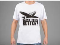 HobbyKing Ropa Balsa vuela mejor camisa de algodón (grande)