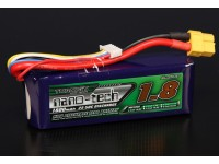 Turnigy nano-tech 1800mah 4S 25 ~ 50C Lipo Pack de