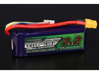 Turnigy nano-tech 2200mah 4S 45 ~ 90C Lipo Pack de