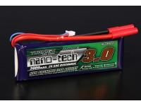 Turnigy nano-tech 3000mah 2S 25 ~ 50C Lipo Pack de