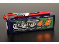 Turnigy nano-tech 4000mah 6S 25 ~ 50C Lipo Pack de