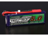 Turnigy nano-tech 5000mah 3S 25 ~ 50C Lipo Pack de