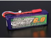Turnigy nano-tech 6000mah 4S 25 ~ 50C Lipo Pack de