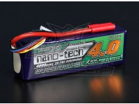 Turnigy nano-tech 4000mah 5S 35 ~ 70C Lipo Pack de